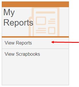 View Reports link under the My Reports tab